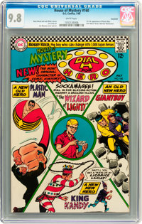 House of Mystery #160 Savannah pedigree (DC, 1966) CGC NM/MT 9.8 White pages