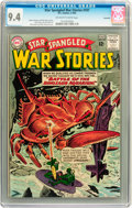 Silver Age (1956-1969):War, Star Spangled War Stories #107 Savannah pedigree (DC, 1963) CGC NM 9.4 Off-white to white pages....