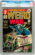 Bronze Age (1970-1979):War, Weird War Tales #1 Savannah pedigree (DC, 1971) CGC NM 9.4 Off-white to white pages....