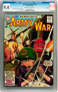 Silver Age (1956-1969):War, Our Army at War #142 Savannah pedigree (DC, 1964) CGC NM 9.4 Cream to off-white pages....