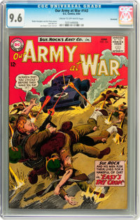 Our Army at War #143 Savannah pedigree (DC, 1964) CGC NM+ 9.6 Cream to off-white pages