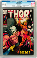 Thor #165 Savannah pedigree (Marvel, 1969) CGC NM+ 9.6 Off-white pages