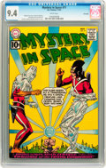 Silver Age (1956-1969):Science Fiction, Mystery in Space #71 Savannah pedigree (DC, 1961) CGC NM 9.4 Whitepages....