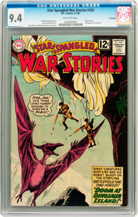 Star Spangled War Stories #103 Savannah pedigree (DC, 1962) CGC NM 9.4 Off-white pages
