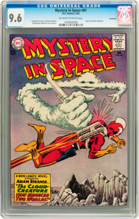 Mystery in Space #81 Savannah pedigree (DC, 1963) CGC NM+ 9.6 Off-white to white pages