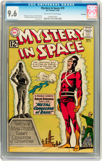 Mystery in Space #79 Savannah pedigree (DC, 1962) CGC NM+ 9.6 Off-white to white pages