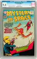 Silver Age (1956-1969):Science Fiction, Mystery in Space #72 Savannah pedigree (DC, 1961) CGC NM 9.4Off-white pages....