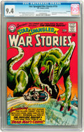 Silver Age (1956-1969):Science Fiction, Star Spangled War Stories #116 Savannah pedigree (DC, 1964) CGC NM 9.4 Off-white to white pages....