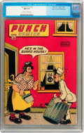 Golden Age (1938-1955):Humor, Punch Comics #16 Mile High pedigree (Chesler, 1946) CGC NM 9.4 Off-white to white pages....