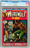 Bronze Age (1970-1979):Horror, Werewolf by Night #1 (Marvel, 1972) CGC NM+ 9.6 White pages....