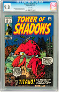Bronze Age (1970-1979):Horror, Tower of Shadows #7 (Marvel, 1970) CGC NM/MT 9.8 White pages....