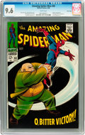Silver Age (1956-1969):Superhero, The Amazing Spider-Man #60 Twin Cities pedigree (Marvel, 1968) CGC NM+ 9.6 White pages....