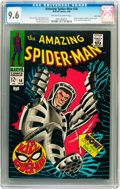 Silver Age (1956-1969):Superhero, The Amazing Spider-Man #58 Twin Cities pedigree (Marvel, 1968) CGCNM+ 9.6 Off-white to white pages....