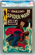 Silver Age (1956-1969):Superhero, The Amazing Spider-Man #52 Twin Cities pedigree (Marvel, 1967) CGCNM+ 9.6 Off-white to white pages....
