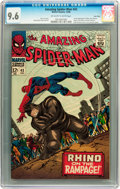 Silver Age (1956-1969):Superhero, The Amazing Spider-Man #43 Twin Cities pedigree (Marvel, 1966) CGC NM+ 9.6 Off-white to white pages....