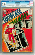 Silver Age (1956-1969):Superhero, Showcase #4 The Flash - Twin Cities pedigree (DC, 1956) CGC GD/VG3.0 Off-white pages....