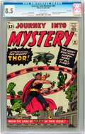 Silver Age (1956-1969):Superhero, Journey Into Mystery #83 Twin Cities pedigree (Marvel, 1962) CGCVF+ 8.5 White pages....