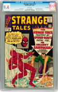 Silver Age (1956-1969):Superhero, Strange Tales #115 Twin Cities pedigree (Marvel, 1963) CGC NM 9.4 White pages....