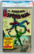 Silver Age (1956-1969):Superhero, The Amazing Spider-Man #20 Twin Cities pedigree (Marvel, 1965) CGCNM+ 9.6 White pages....