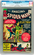 Silver Age (1956-1969):Superhero, The Amazing Spider-Man #9 Twin Cities pedigree (Marvel, 1964) CGCNM+ 9.6 White pages....