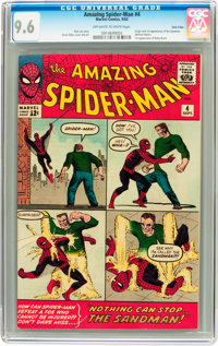 The Amazing Spider-Man #4 Twin Cities pedigree (Marvel, 1963) CGC NM+ 9.6 Off-white to white pages