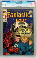 Silver Age (1956-1969):Superhero, Fantastic Four #45 Twin Cities pedigree (Marvel, 1965) CGC NM 9.4 White pages....