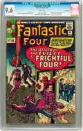Silver Age (1956-1969):Superhero, Fantastic Four #36 Twin Cities pedigree (Marvel, 1965) CGC NM+ 9.6White pages....