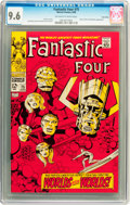 Silver Age (1956-1969):Superhero, Fantastic Four #75 Twin Cities pedigree (Marvel, 1968) CGC NM+ 9.6Off-white to white pages....