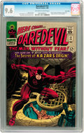 Silver Age (1956-1969):Superhero, Daredevil #13 Twin Cities pedigree (Marvel, 1966) CGC NM+ 9.6Off-white to white pages....