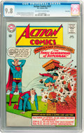Silver Age (1956-1969):Superhero, Action Comics #327 Twin Cities pedigree (DC, 1965) CGC NM/MT 9.8Off-white to white pages....