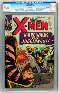 X-Men #13 Twin Cities pedigree (Marvel, 1965) CGC NM+ 9.6 White pages