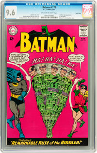 Batman #171 Twin Cities pedigree (DC, 1965) CGC NM+ 9.6 Off-white to white pages
