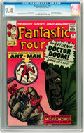 Silver Age (1956-1969):Superhero, Fantastic Four #16 Twin Cities pedigree (Marvel, 1963) CGC NM 9.4 Off-white to white pages....