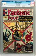 Silver Age (1956-1969):Superhero, Fantastic Four #17 Twin Cities pedigree (Marvel, 1963) CGC NM 9.4 Off-white pages....