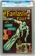 Silver Age (1956-1969):Superhero, Fantastic Four #50 Twin Cities pedigree (Marvel, 1966) CGC NM+ 9.6White pages....