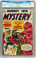 Silver Age (1956-1969):Superhero, Journey Into Mystery #90 Twin Cities pedigree (Marvel, 1963) CGCNM+ 9.6 Off-white pages....