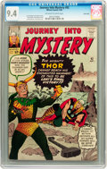 Silver Age (1956-1969):Superhero, Journey Into Mystery #92 Twin Cities pedigree (Marvel, 1963) CGC NM9.4 Off-white to white pages....