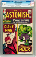 Silver Age (1956-1969):Superhero, Tales to Astonish #60 Twin Cities pedigree (Marvel, 1964) CGC NM 9.4 Off-white to white pages....