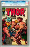 Silver Age (1956-1969):Superhero, Thor #126 Twin Cities pedigree (Marvel, 1966) CGC NM+ 9.6 Off-whiteto white pages....