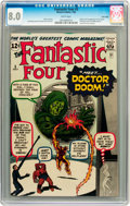Silver Age (1956-1969):Superhero, Fantastic Four #5 Twin Cities pedigree (Marvel, 1962) CGC VF 8.0White pages....
