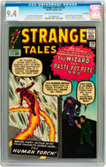 Silver Age (1956-1969):Superhero, Strange Tales #110 Twin Cities pedigree (Marvel, 1963) CGC NM 9.4Off-white to white pages....