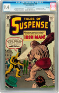 Silver Age (1956-1969):Superhero, Tales of Suspense #40 Twin Cities pedigree (Marvel, 1963) CGC NM 9.4 Off-white to white pages....