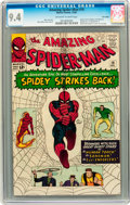 Silver Age (1956-1969):Superhero, The Amazing Spider-Man #19 Twin Cities pedigree (Marvel, 1964) CGC NM 9.4 Off-white to white pages....