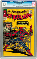 Silver Age (1956-1969):Superhero, The Amazing Spider-Man #25 Twin Cities pedigree (Marvel, 1965) CGCNM 9.4 White pages....