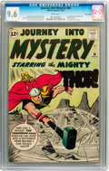 Silver Age (1956-1969):Superhero, Journey Into Mystery #86 Twin Cities pedigree (Marvel, 1962) CGC NM+ 9.6 White pages....