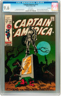 Silver Age (1956-1969):Superhero, Captain America #113 Twin Cities pedigree (Marvel, 1969) CGC NM+ 9.6 White pages....