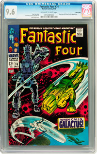 Fantastic Four #74 Twin Cities pedigree (Marvel, 1968) CGC NM+ 9.6 Off-white to white pages