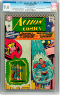Silver Age (1956-1969):Superhero, Action Comics #339 Twin Cities pedigree (DC, 1966) CGC NM+ 9.6Off-white to white pages....