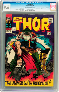 Thor #127 Twin Cities pedigree (Marvel, 1966) CGC NM+ 9.6 Off-white to white pages