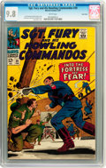 Silver Age (1956-1969):War, Sgt. Fury and His Howling Commandos #39 Twin Cities pedigree (Marvel, 1967) CGC NM/MT 9.8 White pages....